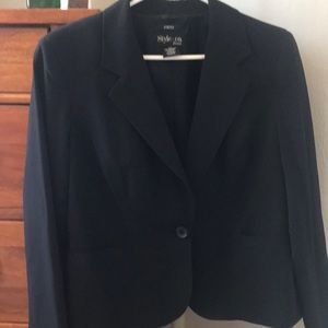 Black dress blazer